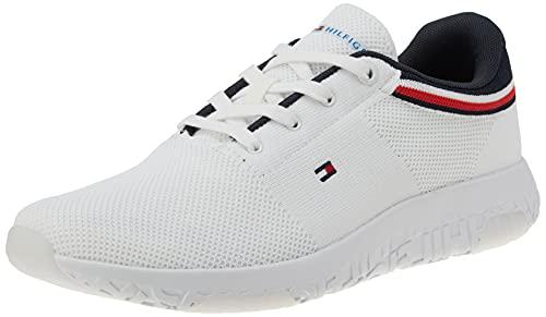 Tommy Hilfiger Herren TEVO 13D Sneaker, White, 43 EU