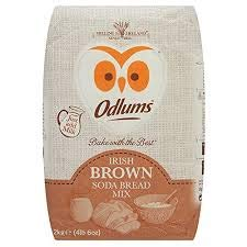 Odlums Brown soda Bread Mix 2-KG Bag (Imported from Ireland)