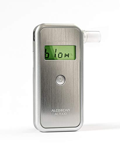 ETILOMETRO Digitale con SENSORE SOSTITUIBILE AL7000 Deluxe, nella Versione Piu' ACCESSORIATA in Eco Box - Garanzia E Assistenza da Italia