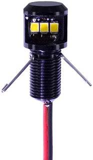 Instrument panel post light - Premium 12V 12 VDC RED LED dimmable 90 degree lamp