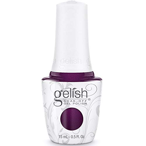 GELISH 15ml - LM NUTCRAKER - PLUM-THING MAGICAL - ROYAL PURPLE SHIMMER