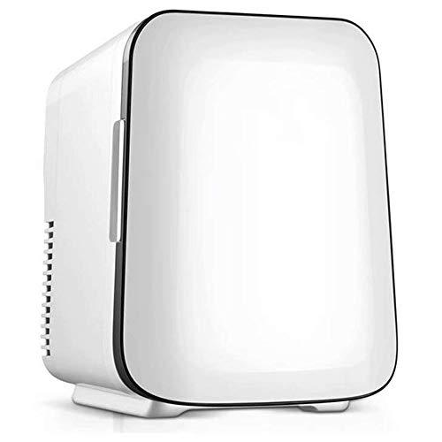 Wangt koelkast, thermo-elektrisch, stil, 4 l, draagbare mini-koelkast, 12 V/240 V, dubbele ingang koelbox voor vrachtwagen/caravans