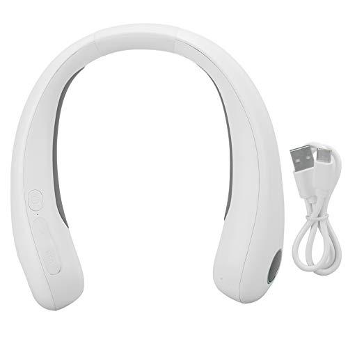 Calentador de cuello eléctrico, calentador de cuello portátil de 9600mAh con capacidad USB2.0, calentador de cuello colgante para el hogar