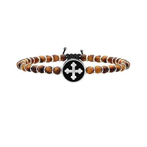 Croce di san michele Arcangelo guerriero, Unica, Argento