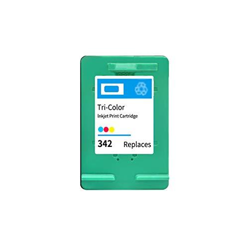 DYYPPWW Compatible 336XL 342XL Cartucho de Tinta, Alto Volumen de Impresión Reemplazo,para HP Deskjet 5420 5432 5440 5442 Impresora,Color