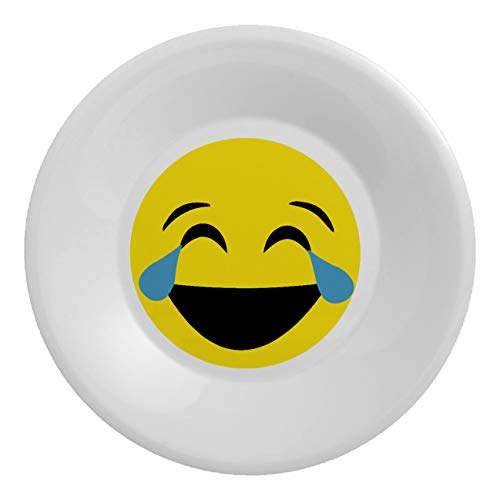 My Custom Style Assiettes en polymère #Smile_A# incassables Diametro 20,3cm Smile - Lacrimoni