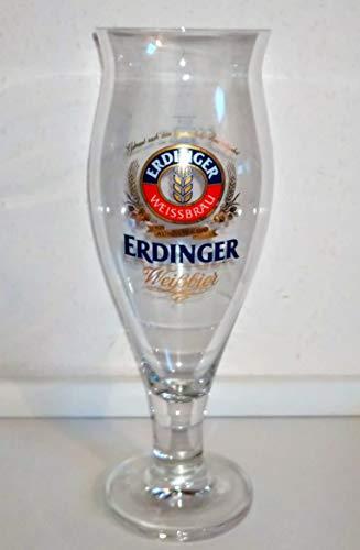 Weissbiergläser / Erdinger / 1 x Erdinger Bier Glas Colani 0,5 l Bier Tulpe / Ritzenhoff / Weißbier Hefe Gläser / Cristal-Gläser / 1 Stück