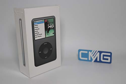 MP3 Player Musik Player iPod Classic 120 GB schwarz (120 GB, Schwarz)
