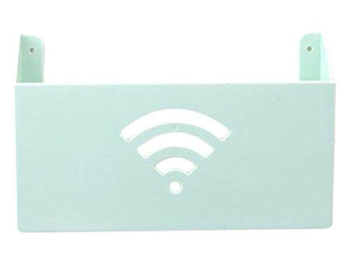 ruikey WiFi Router estante de almacenamiento Revista Caja De Almacenaje decoración...