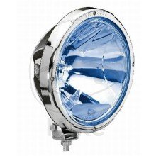 SCHEINWERFER H1 FERN RALLYE 3003 BLUE CHROMRAHMEN - 106.03.75 - Hella Fernscheinwerfer Rallye 3003 Blue, mit Chromring -