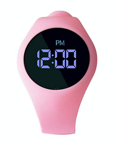 UpPro New Potty Training Watch with Countdown Timer | Rechargeable and Water Resistant Toddler Reminder Watch | Musical Potty Trainer Alarm for Toilet Training Boys and Girls (Pink)