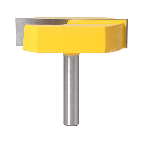 8mm Schaft Boden reinigen Router Bits Flächenhobelung Router Bits Durchmesser Bodenreinigung Holzbearbeitungsfräser Bit