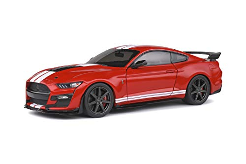 SOLIDO 421186000 Ford Mustang Shelby GT500 2020 modellino Auto Scala 1:18 Rosso