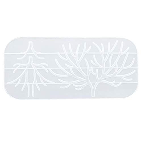 Molde de silicona con pegamento de cristal, para hacer manualidades, decoración de...