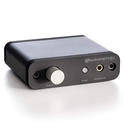 Audioengine D1 24-Bit DAC, Premium Desktop Digital to Analogue Converter & Headphone Amplifier