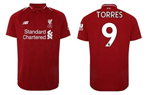 FC Liverpool Trikot Herren 2018-2019 Home I Hall of Fame (XL, Torres 9)
