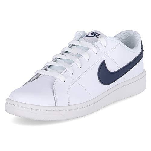 Nike Court Royale 2, Zapatos de Tenis Hombre, White Obsidian, 44 EU