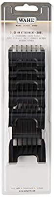 Wahl Plastic Comb Attachments for Arco/Adelar and Bravura, Black