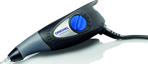 Dremel 290 - Grabadora 35W, kit herramienta de grabado con 3 puntas y 4 plantillas para grabar cristal, cuero, madera