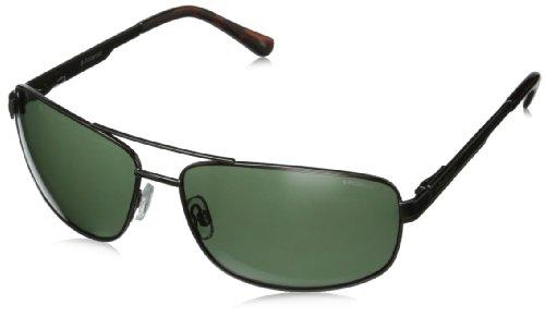 Polaroid P4314 RC KIH Gafas de sol, Negro (Black/Green Polarized), 63 para Hombre