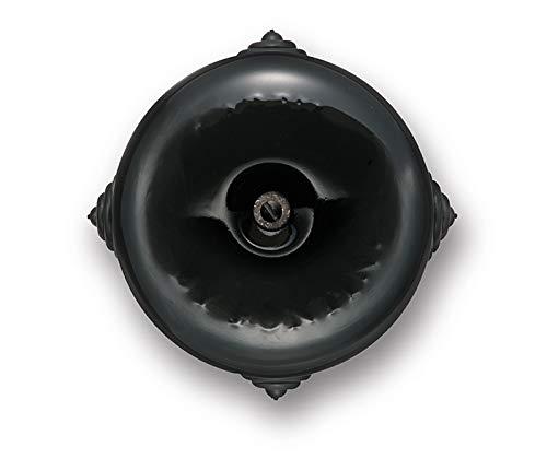 Fontini 30399272 Caja de Empalmes, Porcelana, Negra, Ø 78 mm