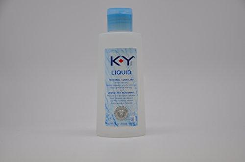 K-Y Liquid Lubricant, 5 oz. (Pack of 5)