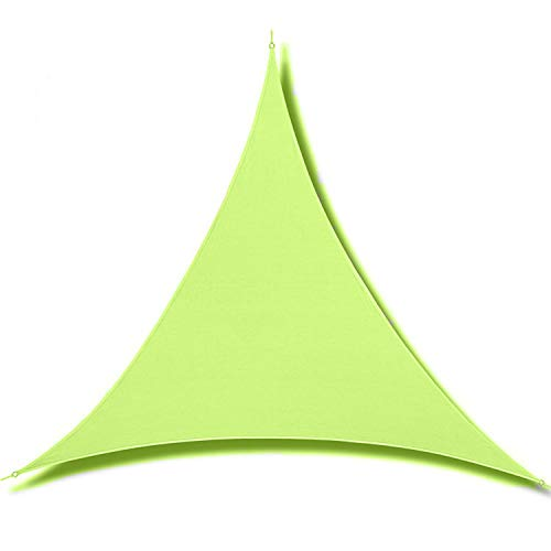 ZHive Durable UV Protection Canopy-Sand Sun Shade Block Cover for Outdoor Patio Garden Yard (Triangle3*3 * 3m,Green)
