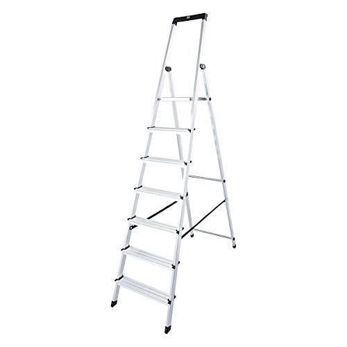 KRAUSE Stehleiter Solidy, 1 Stück, 7 Stufen, 120252