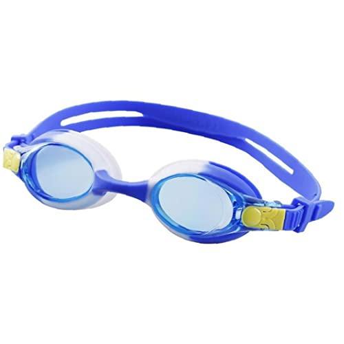 Froiny Gafas Natación para Niños, Anti-Niebla a Prueba Fugas para Niños Gafas Natación con Doble Correa Ajustable Y Marco Silicona