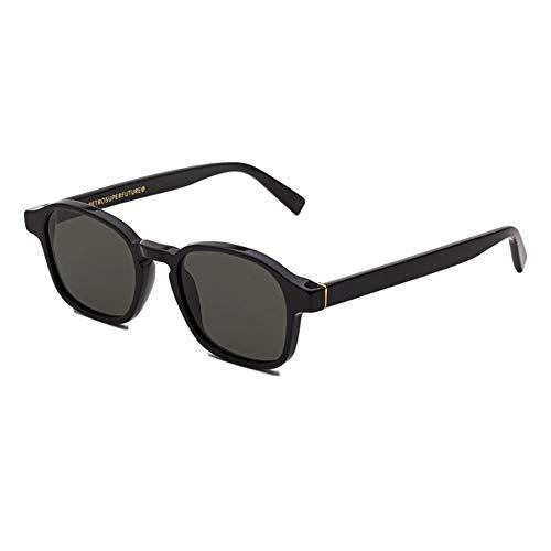 Sunglasses Super by Retrosuperfuture Sol Black 85A Regular R 50 22 145 NEW
