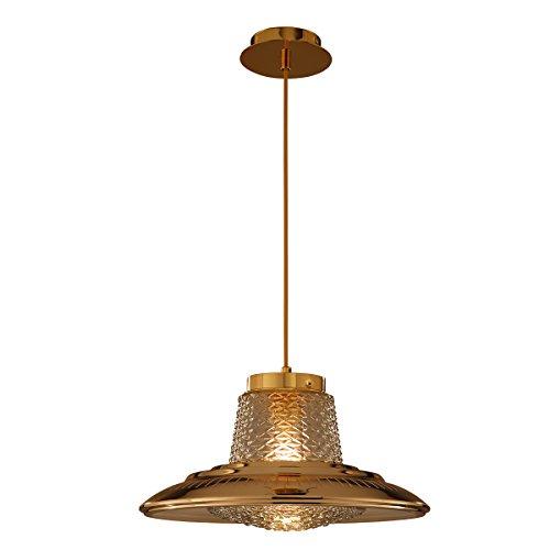 SB-61045, einfache moderne Pendelleuchte, Kronleuchter mit Glas- und Metallschirm, runde Pendelleuchte, einzelne hängende Lampenbefestigungen
