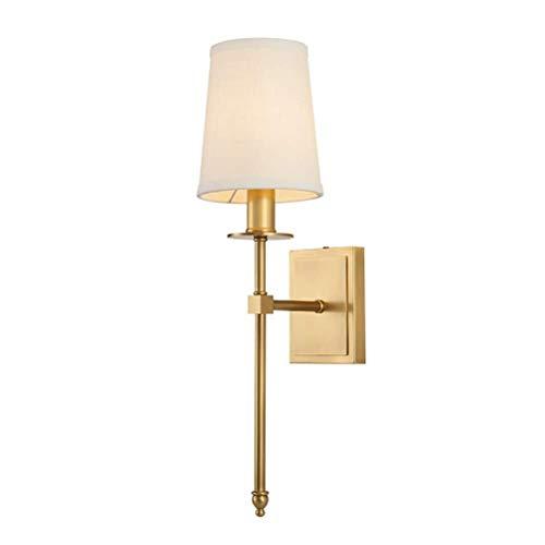 Plafondlamp Wandlamp, moderne klassieke Muurlampen, met stoffen kap, E14, Bedroom Living Room Hotel Hallway Cafes Lamp van de Muur