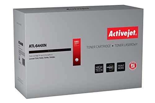 ActiveJet EXPACJTLE0013 Toner ATL-644XN Refill voor Lexmark 64436XE, zwart