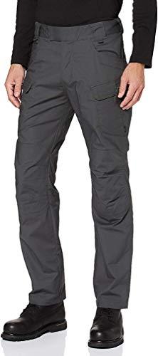 Helikon-Tex UTP Urban - Pantalones tácticos, estilo militar, casual , 36W x 36L, Ripstop de polialgodón gris sombra