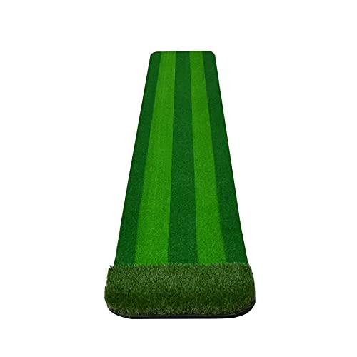 Plegable Golf portátil Poner colchonetas con sistema de retorno de bola automático, fairway de golf que astilla de fairway poniendo ayuda para el hogar, sala de estar Portátil ( Color : STYLE 2 )