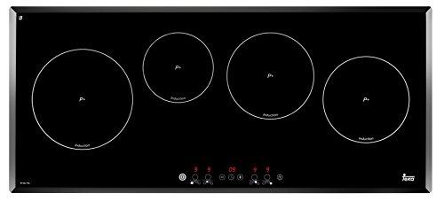 Teka 10210008 - Piano cottura elettrico/induzione / 90 cm/funzione powerplus/sfaccettatura