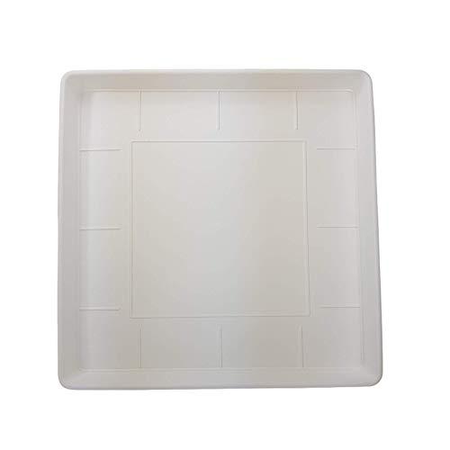 EURO 3 PLAST SPA SOTTOVASO Quadro Misura Esterna 47X47 H5 Misura Interna 42X42 Bianco