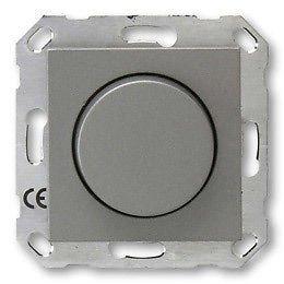 DÜWI ARCHITASTE graphit Dimmer Phasenanschnitt 60-300 W für Glühlampen u. Hochvoltlampen 44252