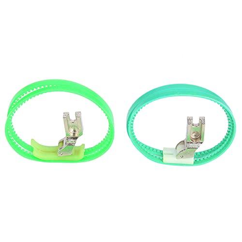 SALALIS Prensatelas con Rodillo, tamaño razonable, Resistente al Desgaste, Peso Ligero, prensatelas de plástico para Abrigo de Cuero para Productos de plástico para Chaquetas de Plumas para