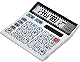 Laxmi Narayan Made in India CITHZEN CT-512 GC Basic Calculator for Students; Office; Shops (White;...