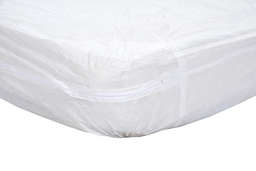 Essential Medical Supply Zippered Mattress Protector for Hospital Beds