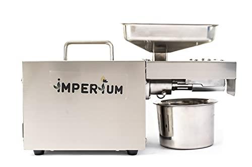 Imperium 400Watt Organic Oil Press Machine for Home Use (Silver)