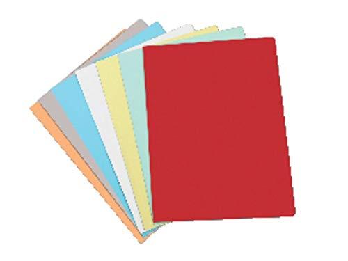 ELBA 400040508 - Paquete de 50 subcarpetas A4 180 g, color amarillo pastel