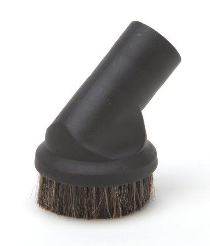 DREHFLEX - DUE41 -brosse à meubles, brosse à meubles pour aspirateur compatible avec les aspirateurs 32 mm avec poils naturels