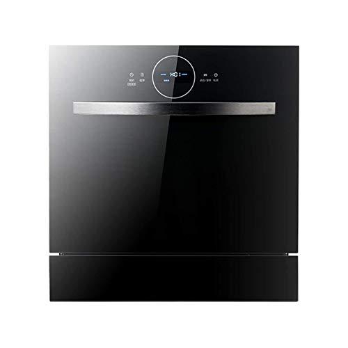 DJDLLZY Lavavajillas  Mini lavavajillas Lavavajillas Lavavajillas portátil lavavajillas Encimeras Lavavajillas incorporadas Dos en una 1380W de alta temperatura Esterilización y secado de alta capacid