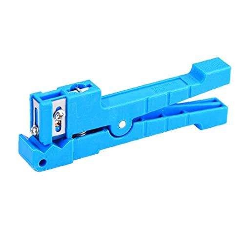 Separador del cable coaxial de cables de fibra óptica suelta del tubo Cortadora horizontal de 45 a 163 para FTTH Telecomunicaciones Hardware Accesorios para herramientas