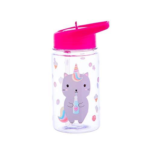 Sass & Belle Botella de agua Luna Caticorn