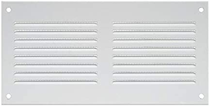 /Con Protecci/ón Contra Insectos/ mr4015 Haco/ /400/x 150/mm/ /Metal Color Blanco /Rejilla rejilla/ /Rejilla de protecci/ón contra la intemperie/