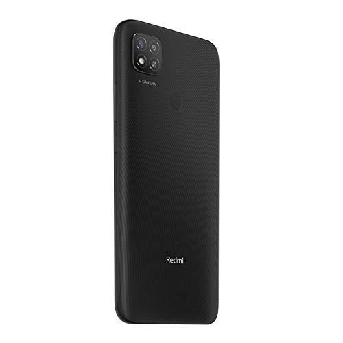 Redmi 9 (Carbon Black, 4GB RAM, 64GB Storage) | 5000 mAh| 2.3GHz Mediatek Helio G35 Octa core Processor