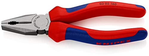 KNIPEX Alicate universal (160 mm) 03 02 160 SB (cartulina autoservicio/blíster)